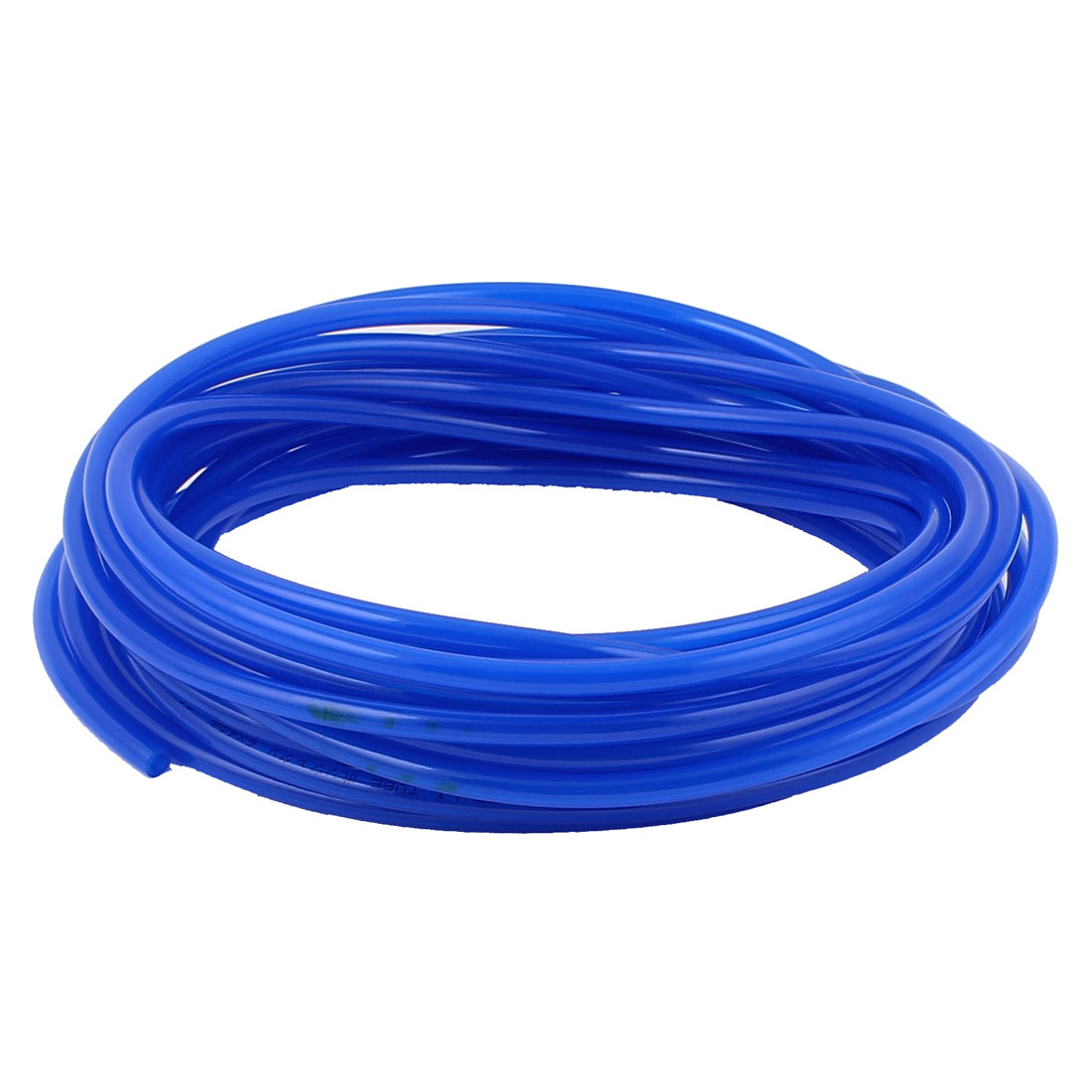 10M Long 6mm x 4mm Dia Pneumatic Polyurethane PU Air Tube Tubing Pipe Hose Blue