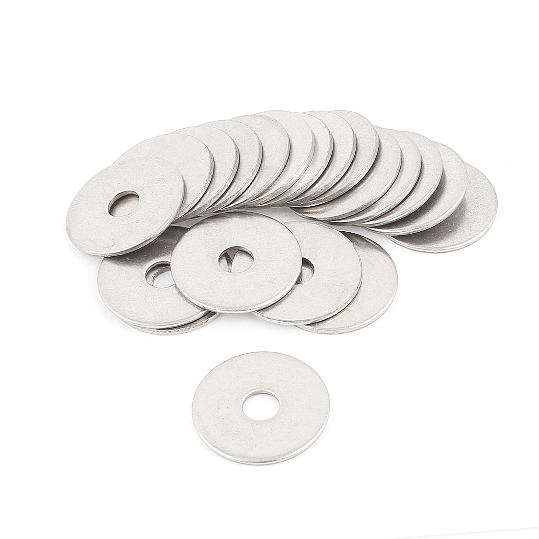 Crown Bolt 304 Stainless Steel Flat Washers Gasket 6x25x1.5mm 20pcs