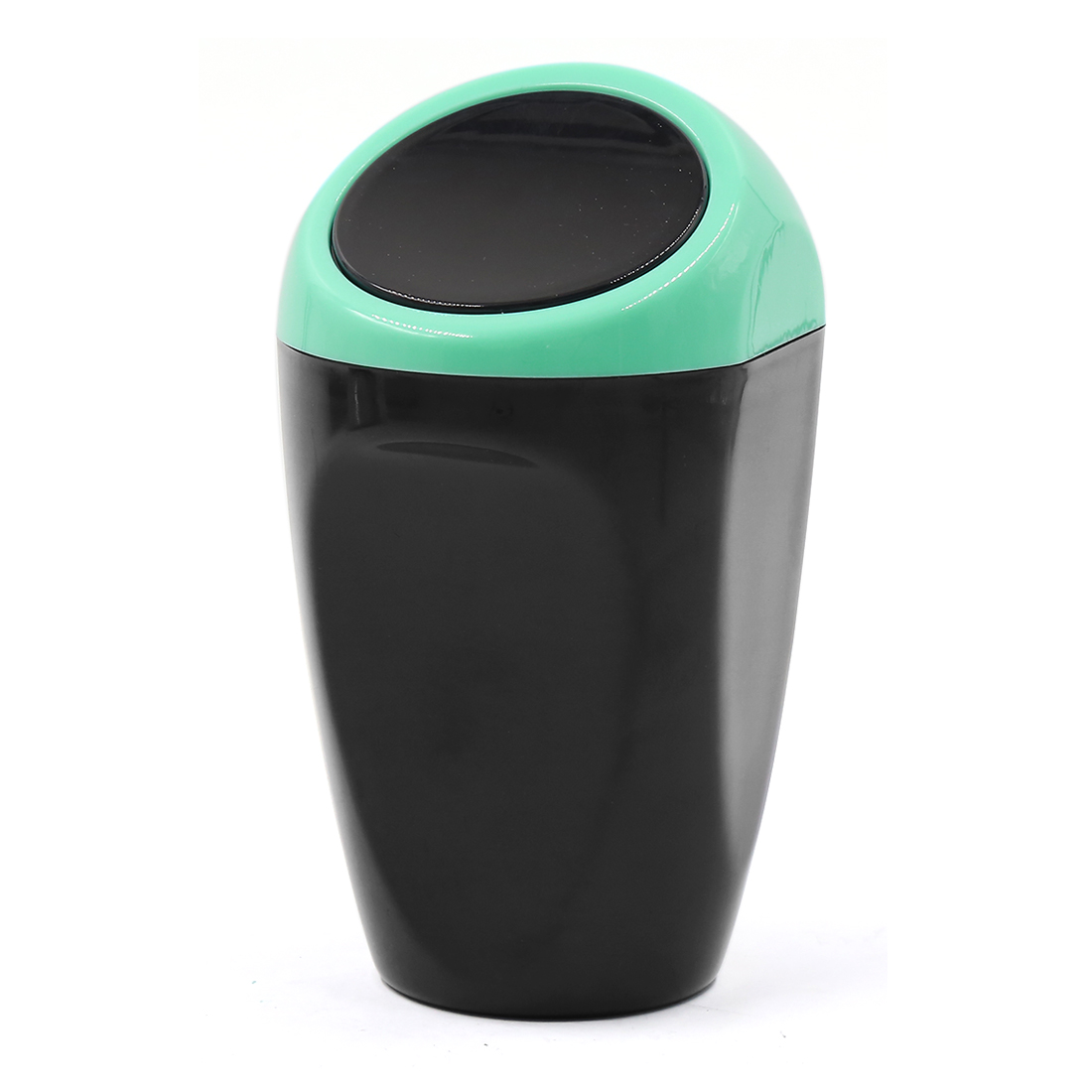 Auto Vehicle Car Trash Rubbish Bin Office Home Garbage Can Dust Case Holder Black Blue