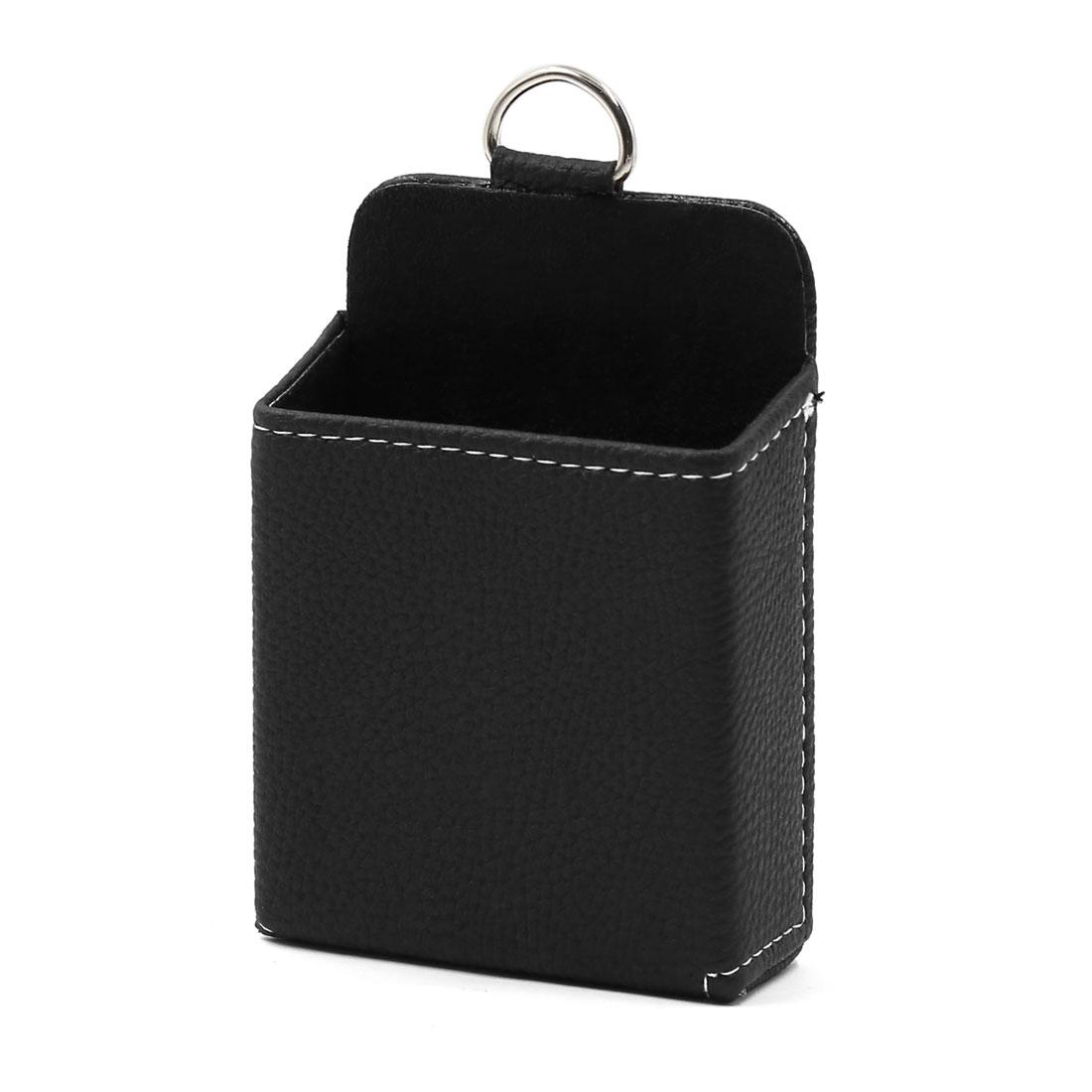 Black Car Air Vent Outlet Phone Pocket Storage Box Organizer Debris Bag Holder Pouch