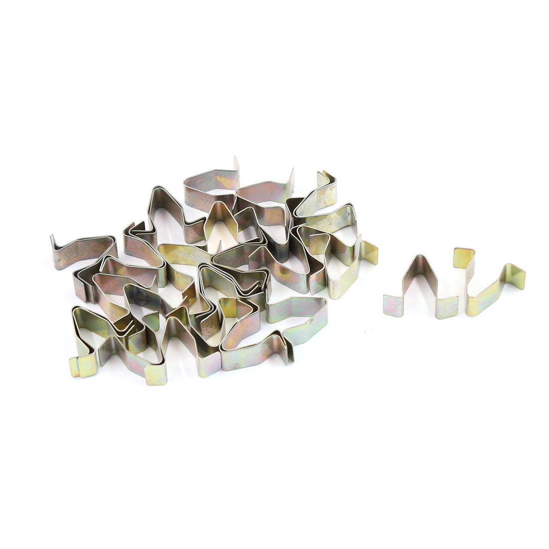 30 Pcs Metal Car Dash Dashboard Rivets Trim Fastener Bronze Tone for 8mm Hole