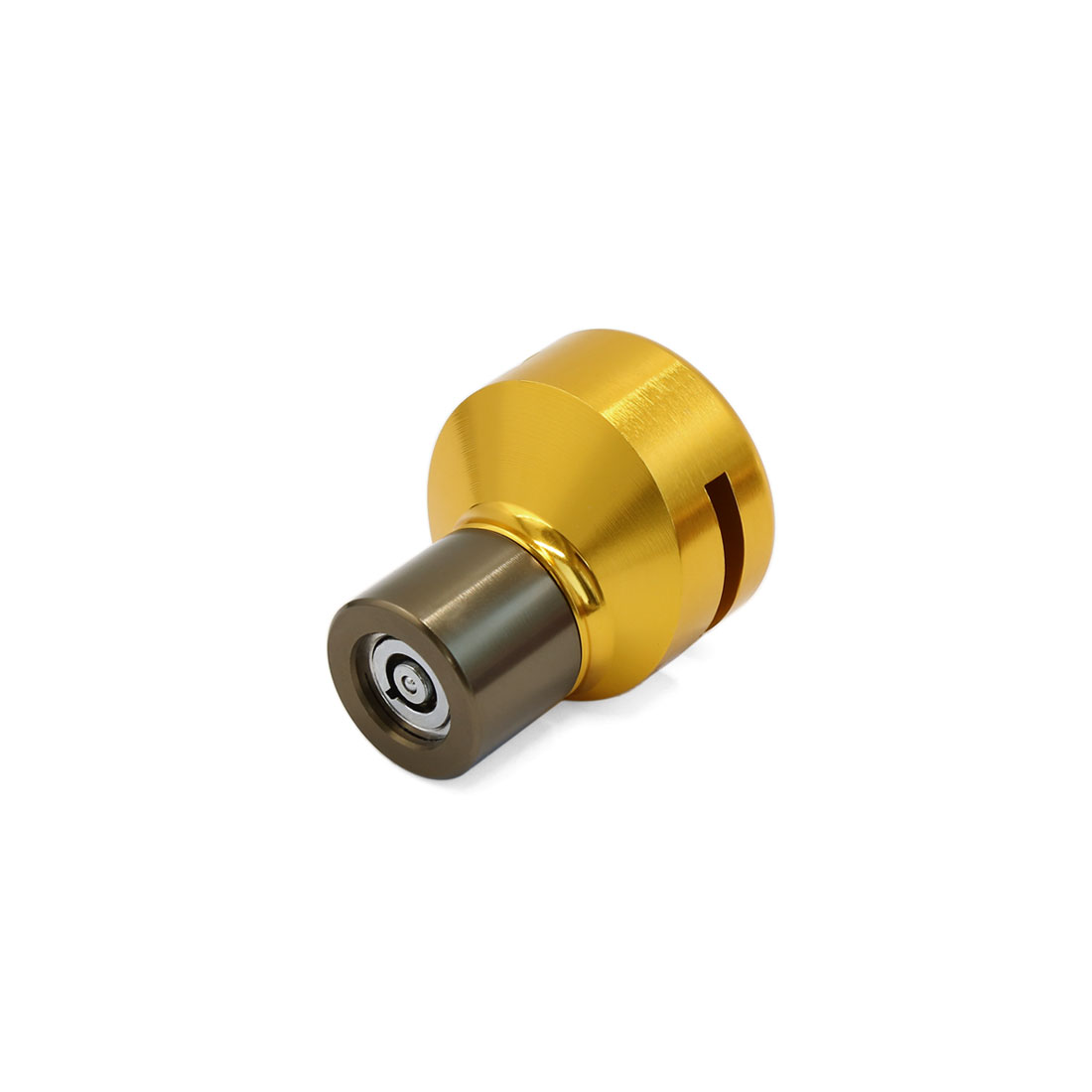 Universal Gold Tone Security Anti Thief Disc Brake Lock for Motorcycle Wheel