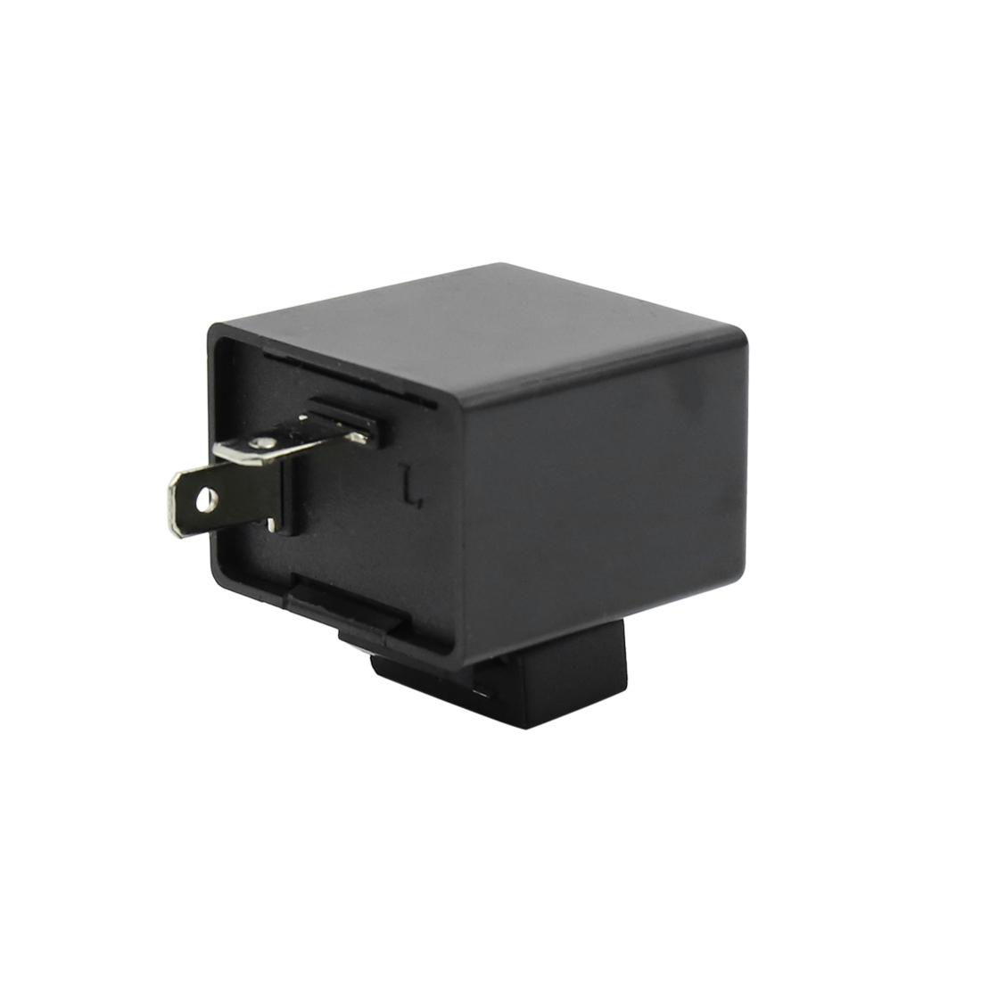 2 Pin Turn Signal Flasher Blinker Relay 12V for Motorcycle LED Indicator Light