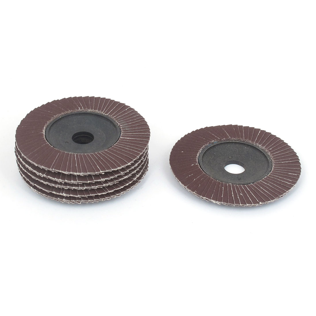 "6 Pcs 4"" x 20mm Sanding Flap Disc Grinding Wheel 320 Grit for Angle Grinder"