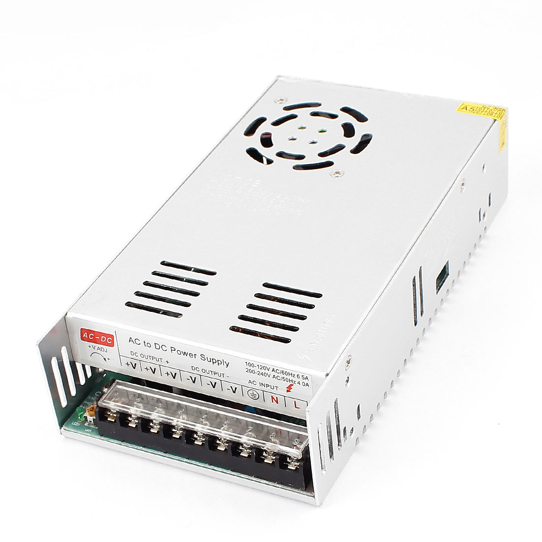DMiotech DC 24V 15A 360W 9 Terminals Power Supply Switching Converter for LED Strip Light