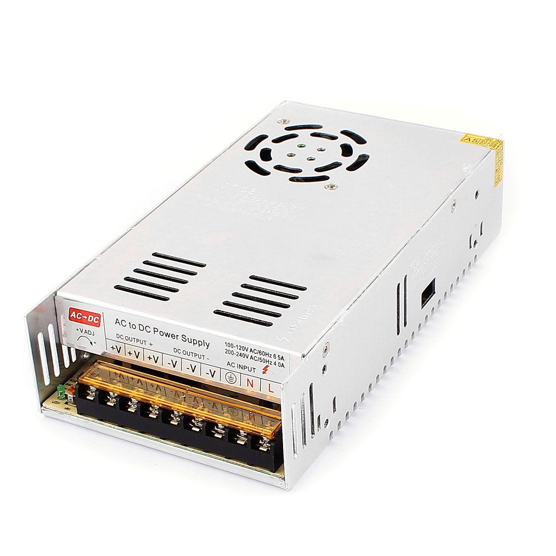 DMiotech DC 12V 30A 360W 9 Terminals Power Supply Switching Converter for LED Strip Light