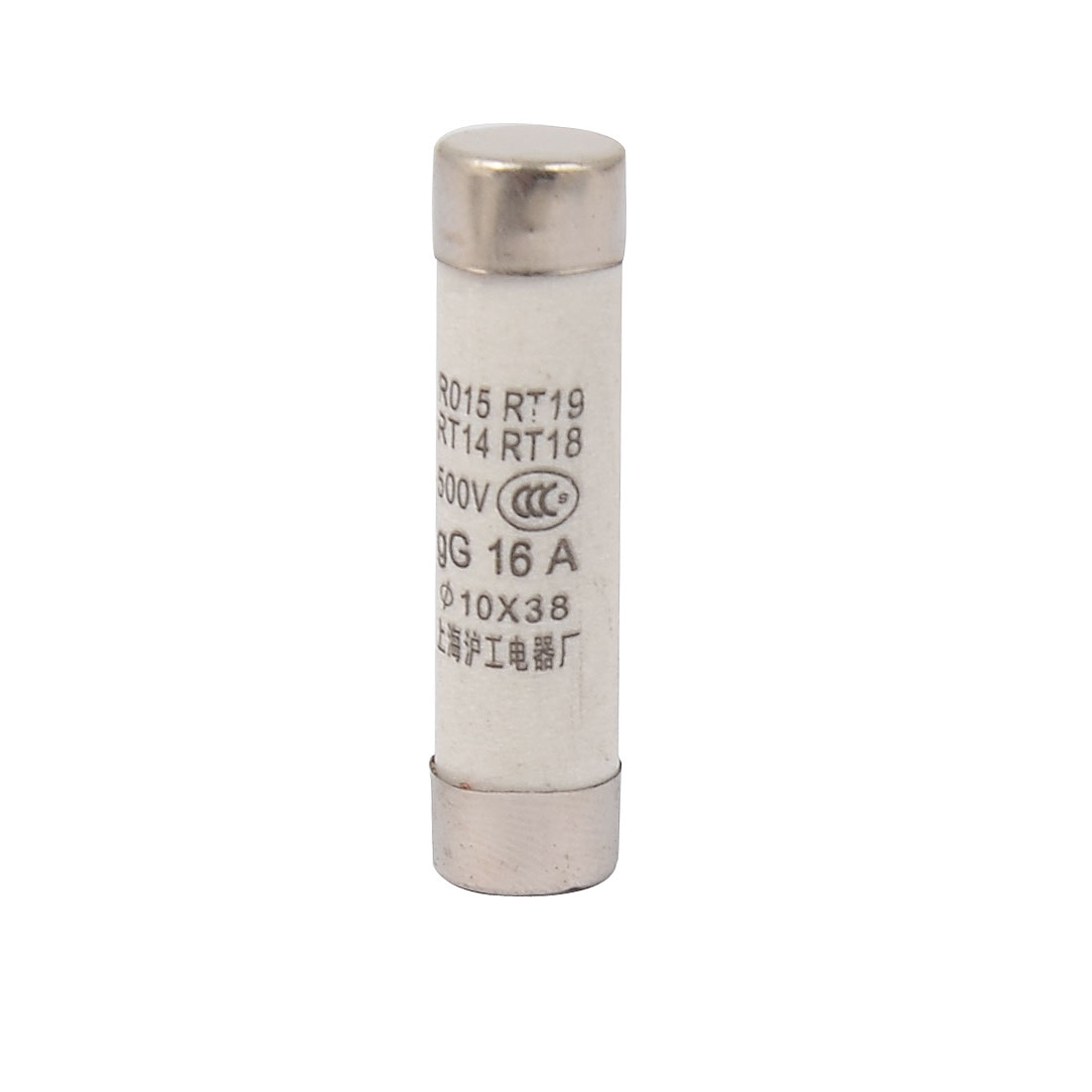 RO15 RT18 RT14 RT19 Ceramic Cylindrical Tube Fuse 16A 500V 10mmx38mm