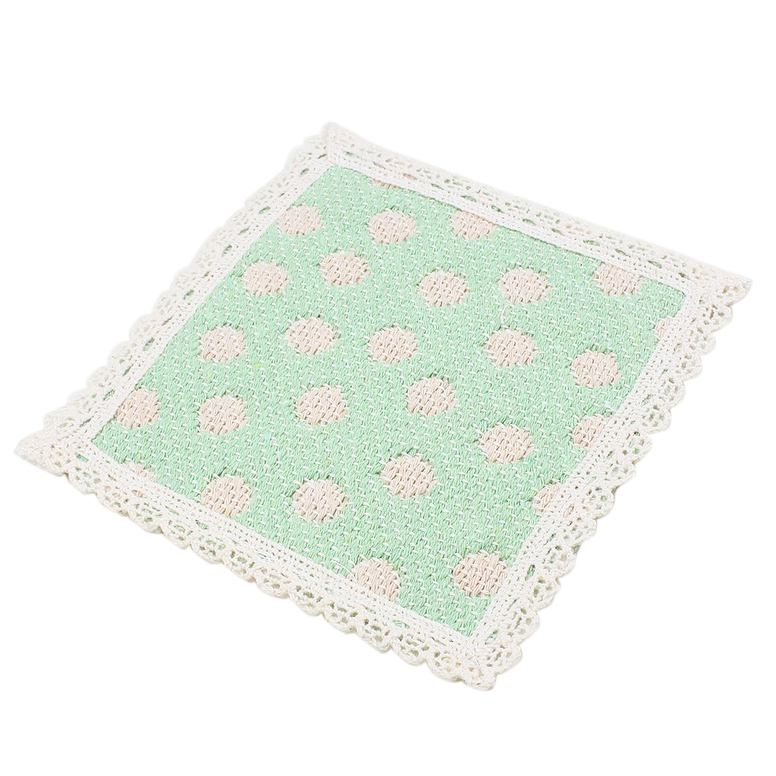 Cotton Strawberry Heat Resistant Table Cup Placemat Pad Coaster Green