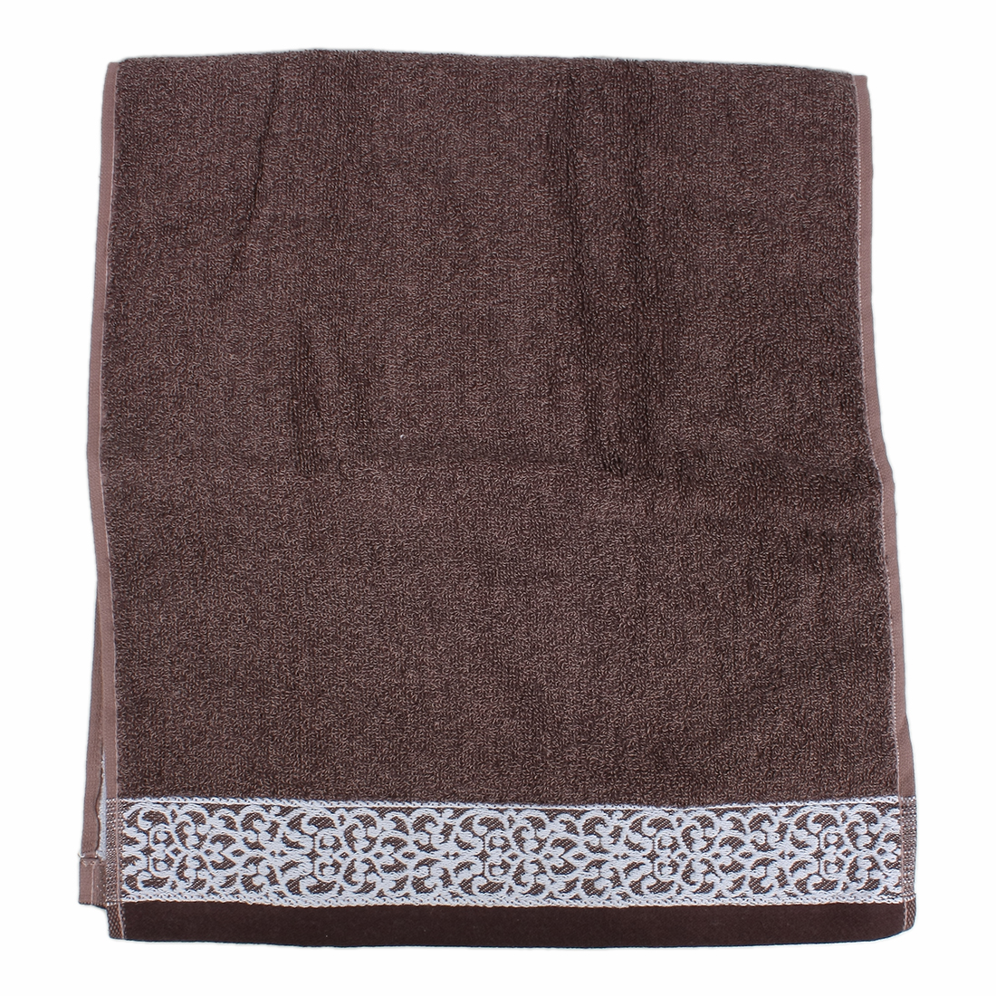 Luxury 100% Super Soft Combed Cotton Towel 35 x 74cm Coffee Color
