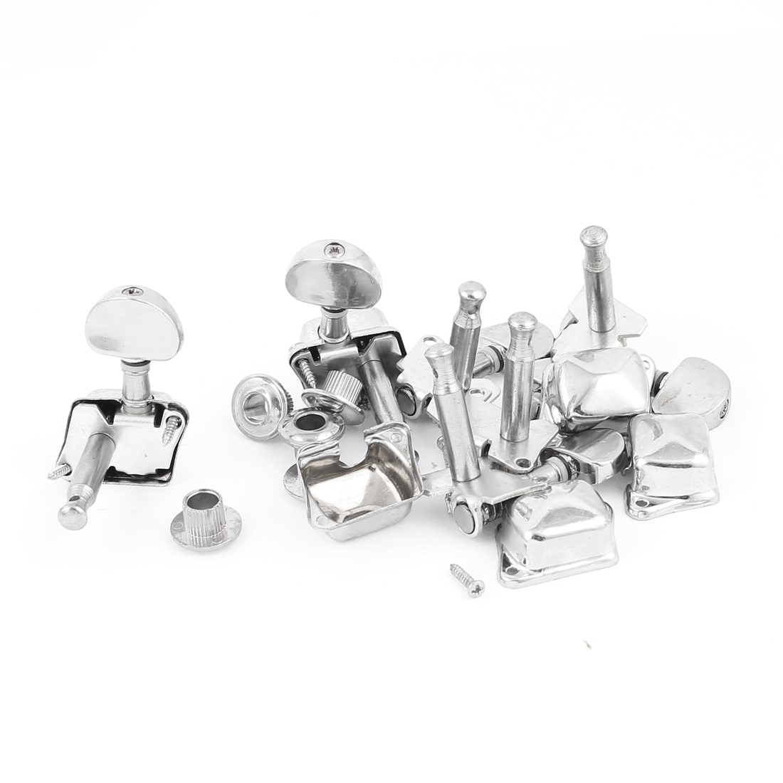 6 Pcs 3L3R Semiclosed Guitar Tuning Pegs String Knob Tuner Machine Heads