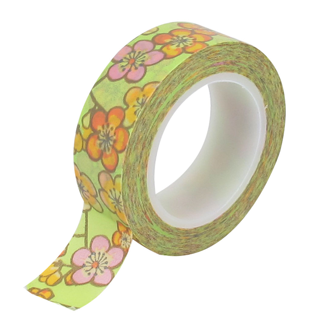 Wintersweet Pattern Decorative Self Adhesive Masking Washi Tape Sticky Paper Sticker