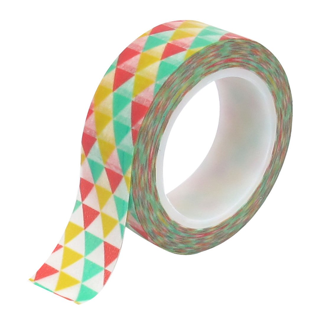 Trilateral Pattern DIY Decorative Sticker School Adhesive Washi Paper Tape