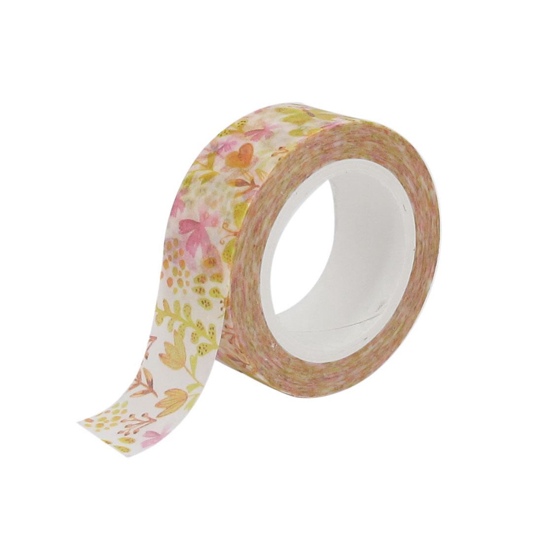 10m Decorative Self Adhesive Masking Washi Tape Sticky Paper Sticker