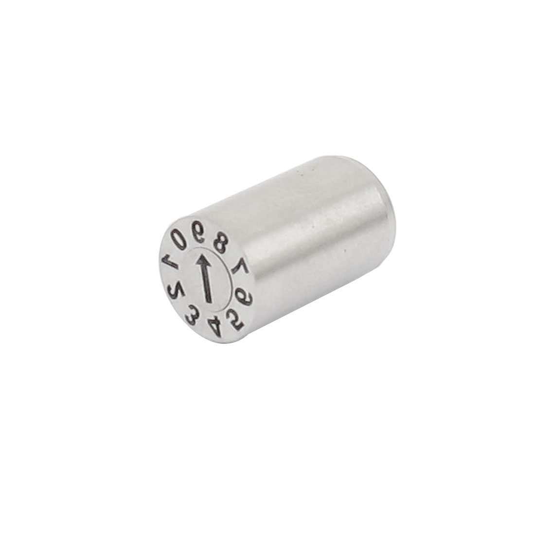 Stainless Steel Mold Date Stamp Inserts Silver Tone 6mm