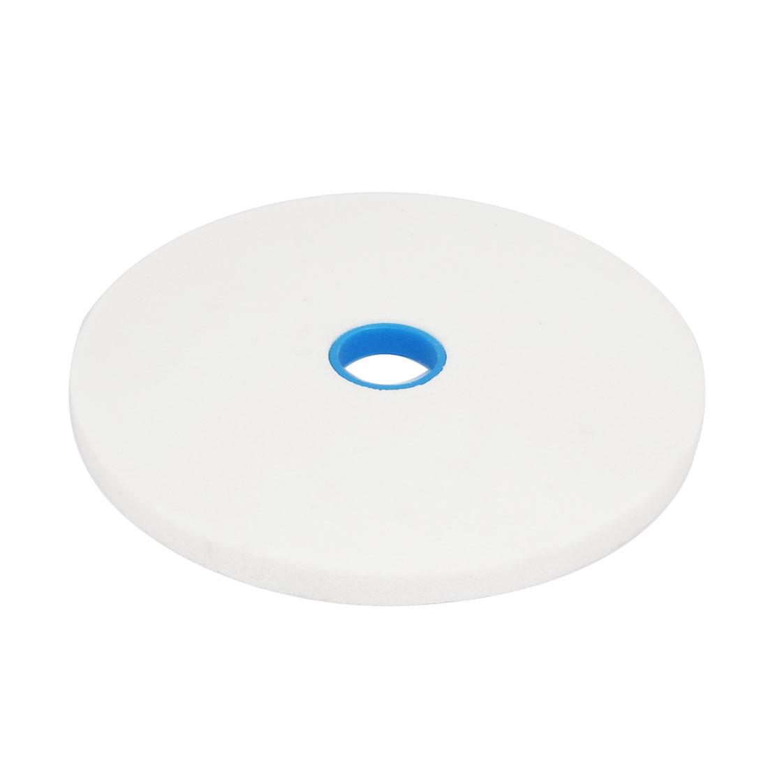 Round Abrasives Grinding Wheel Hardware White 20 x 1.3 x 3.2cm
