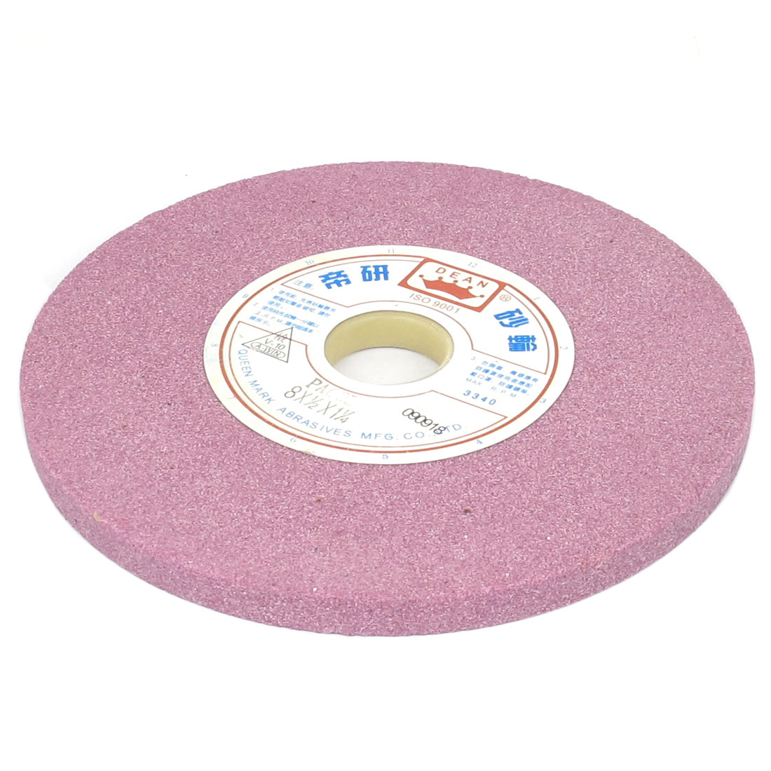 Round Flat Abrasives Grinding Wheel Light Purple 19.5 x 1.3 x 3.2cm