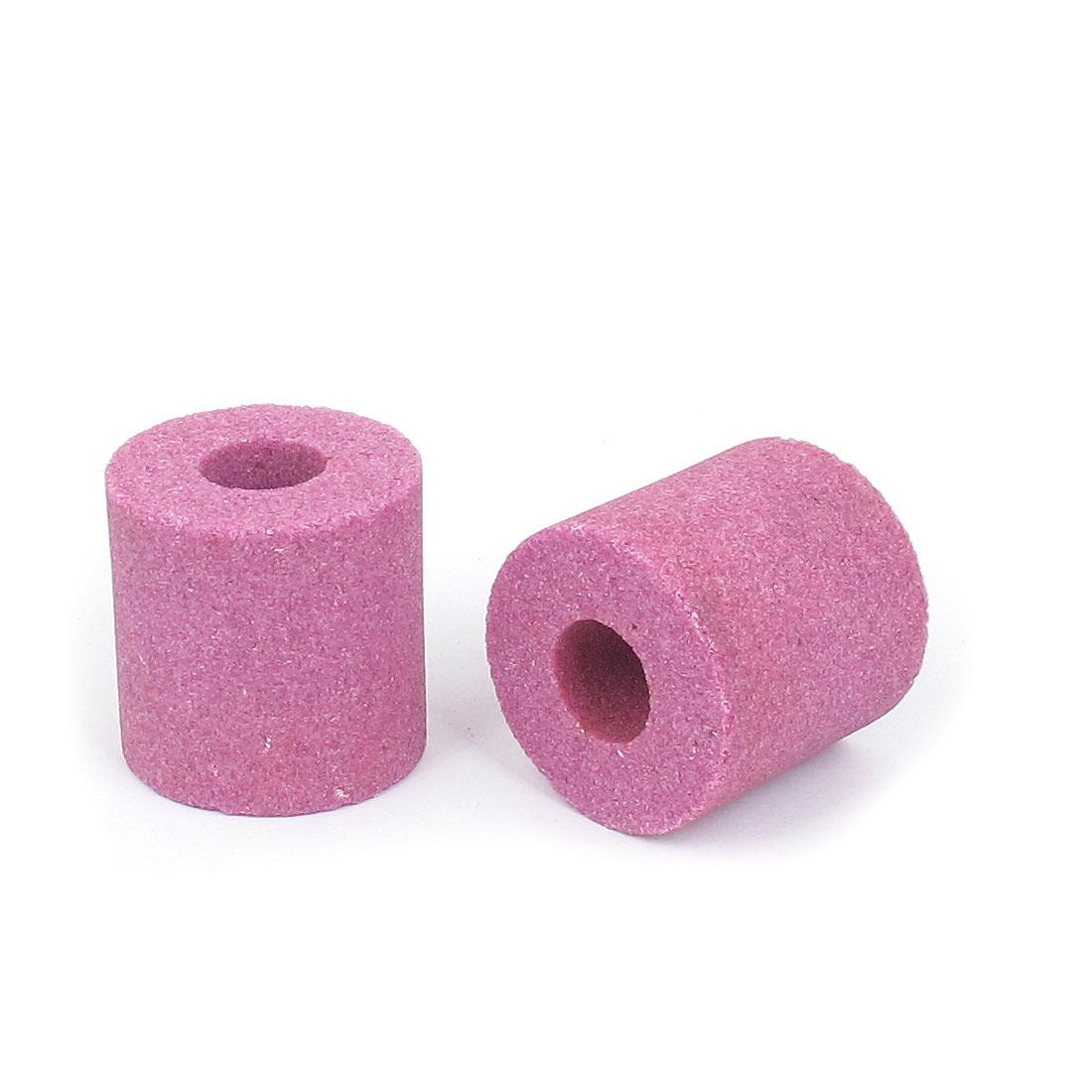 Carborundum Abrasives Cylinder Shaped Grinding Wheel Purple 40 x 40 x 16mm 2 Pcs