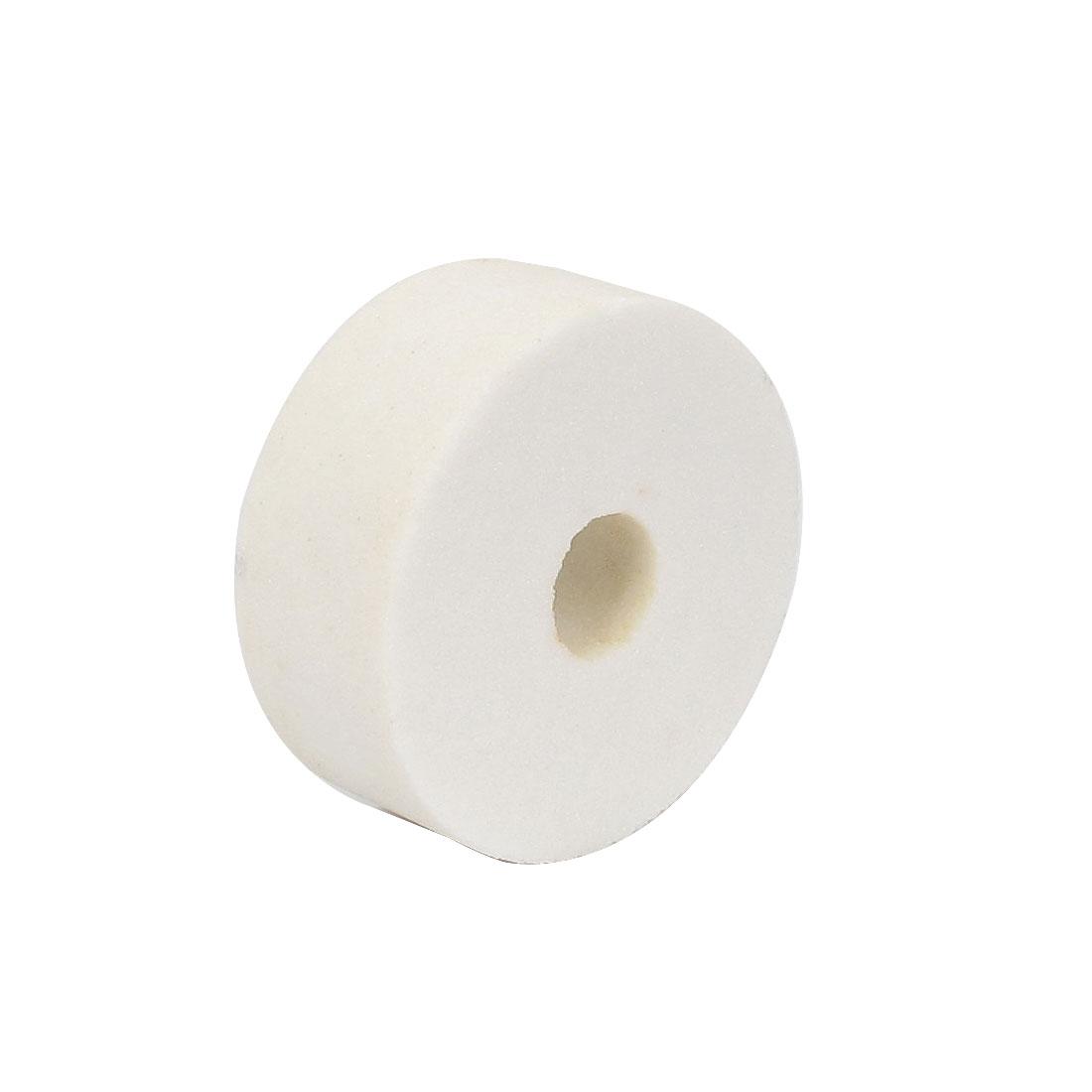 Carborundum Abrasives Round Grinding Wheel White 80 x 32 x 20mm