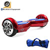 2 Wheel Bluetooth Smart Electric Self Balancing Scooter Hover Board Unicycle Balance Red Blue w Free Bag