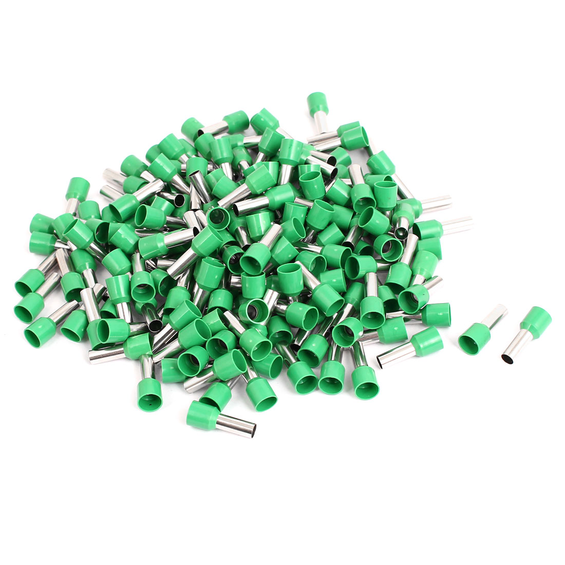 Green Cap 6mm2 Cable Crimp Connector Insulated Ferrule Cord End Terminal 230pcs