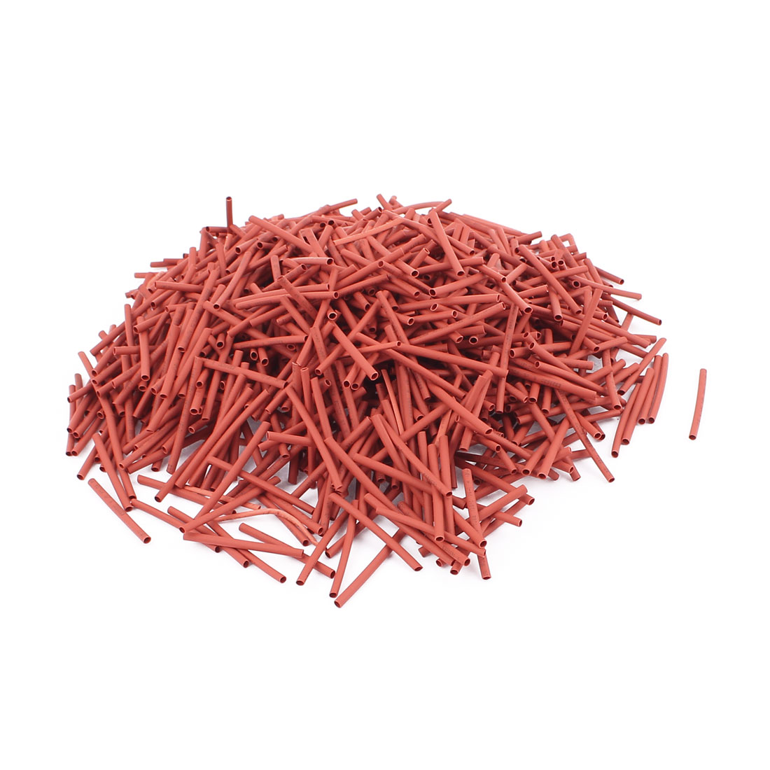 30mm Length Polyolefin Heat Shrink Tubing Tube Sleeve Wrap Cable Red 800Pcs