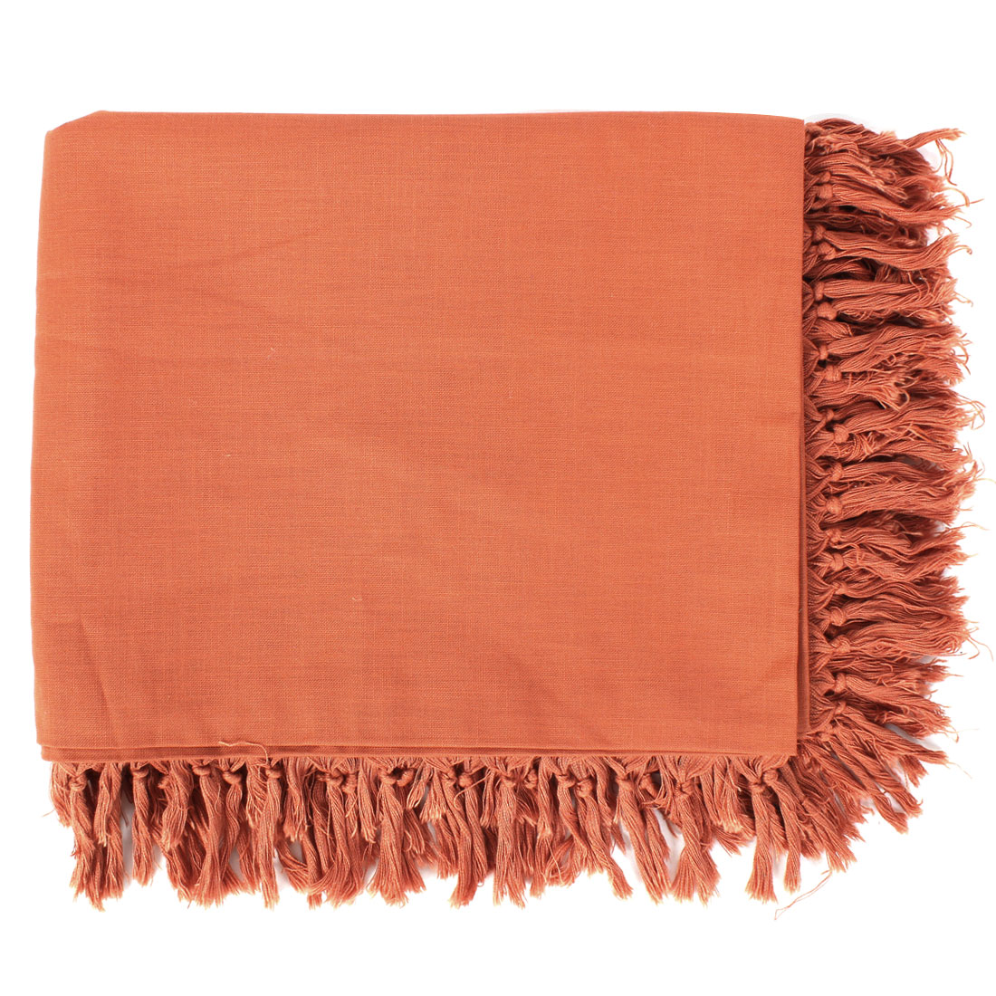 Restaurant Home Decor Orange Tablecloth Table Cover