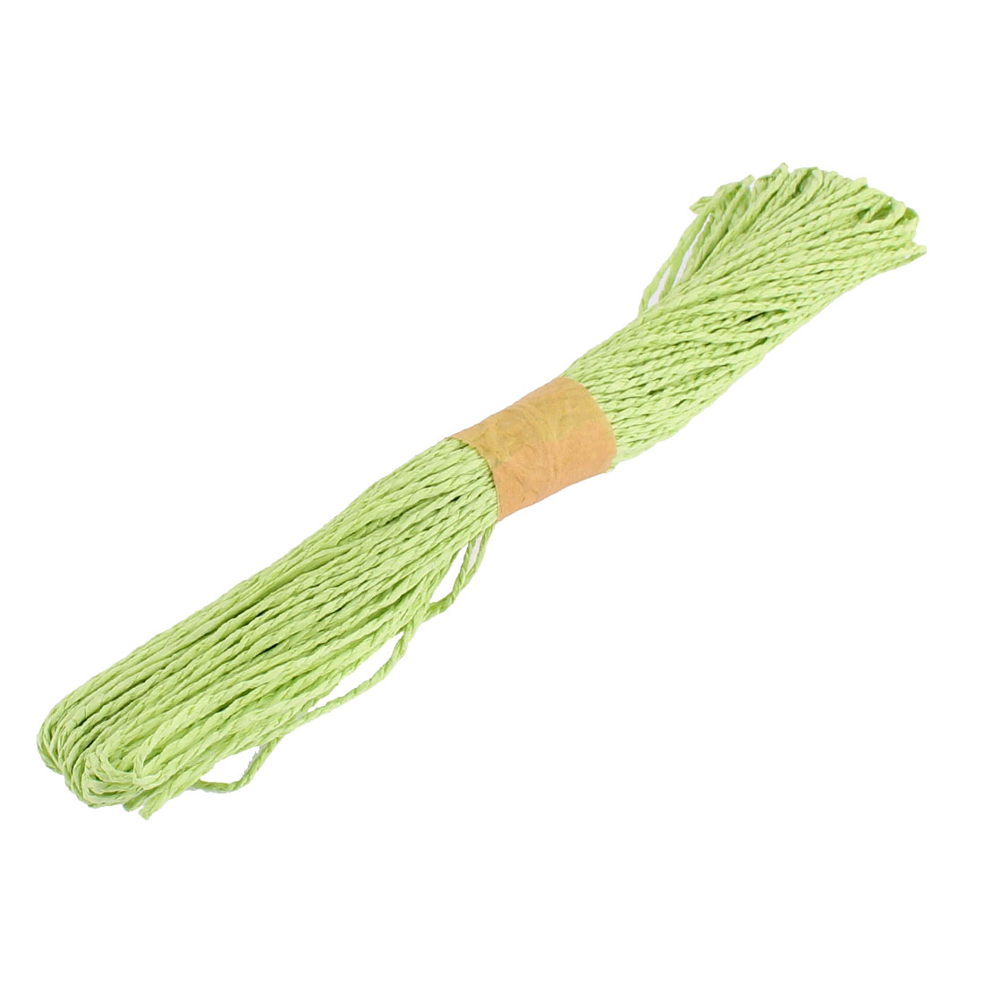Paper Raffia Cord Ribbon Gift Wrap Craft Pack Rope Strings Green