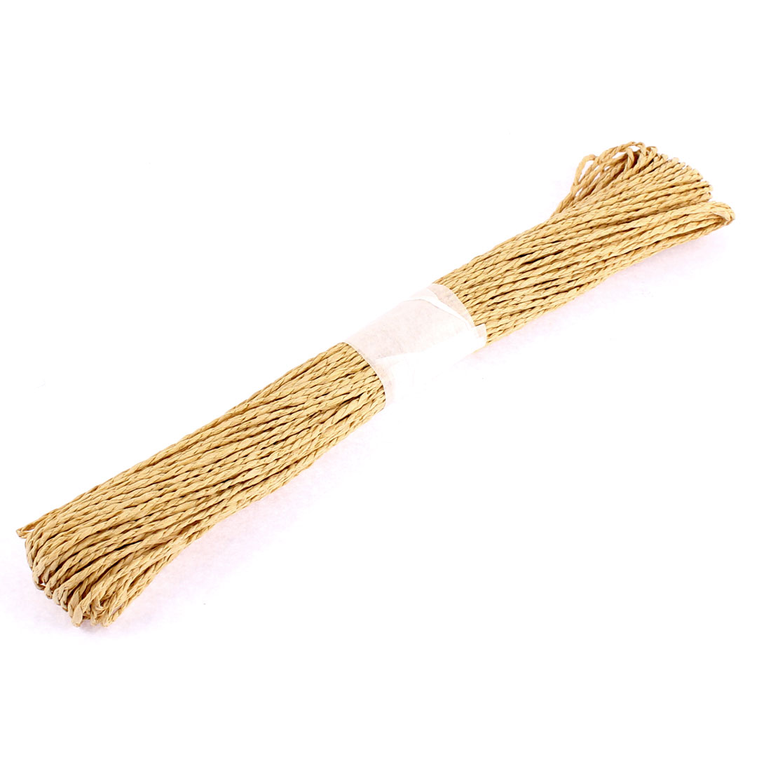 Paper Raffia Cord Ribbon Gift Wrap Craft Pack Rope Strings Khaki