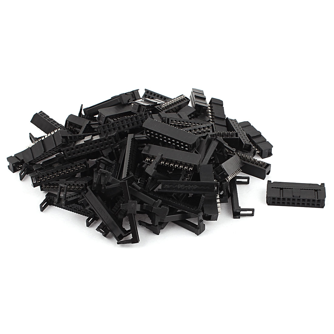 36 Pcs FC-20P 2x10 Pin Female Header IDC Cable Connector 2.54mm Pitch