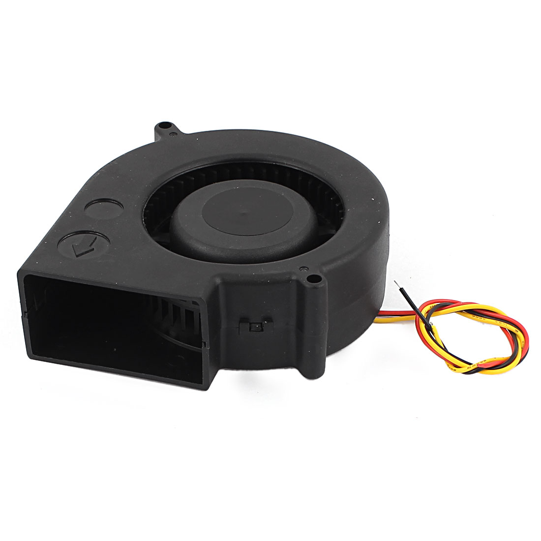 Desktop Connector CPU Cooler Cooling Blower Fan 12VDC 0.13A Black