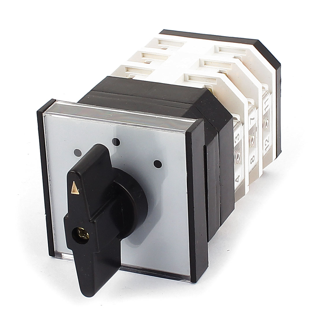 500V 16A On-Off-On 12-Pin 3 Position Universal Changeover Switch