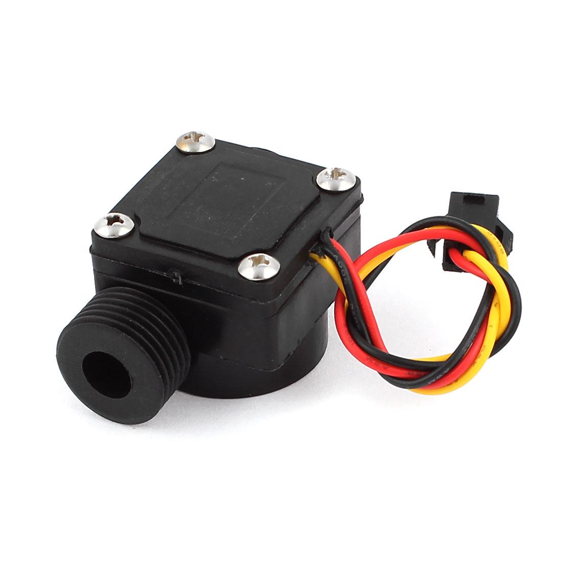 0.5-30L/Min DC 12V Water Heater Flow Sensor Switch Flowmeter Counter