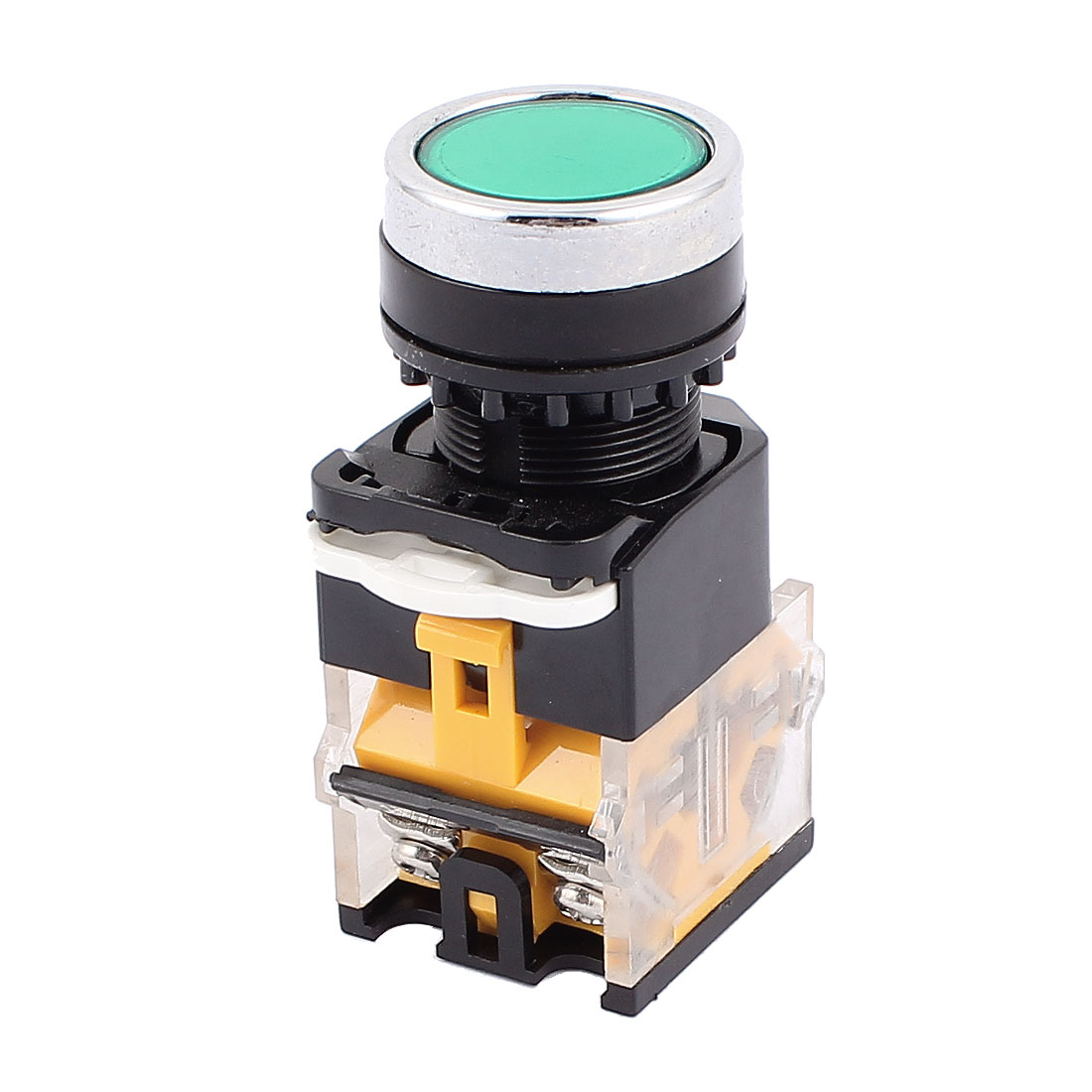 AC 660V 10A 4 Terminals Momentary Round Cap Push Button Switch NO NC