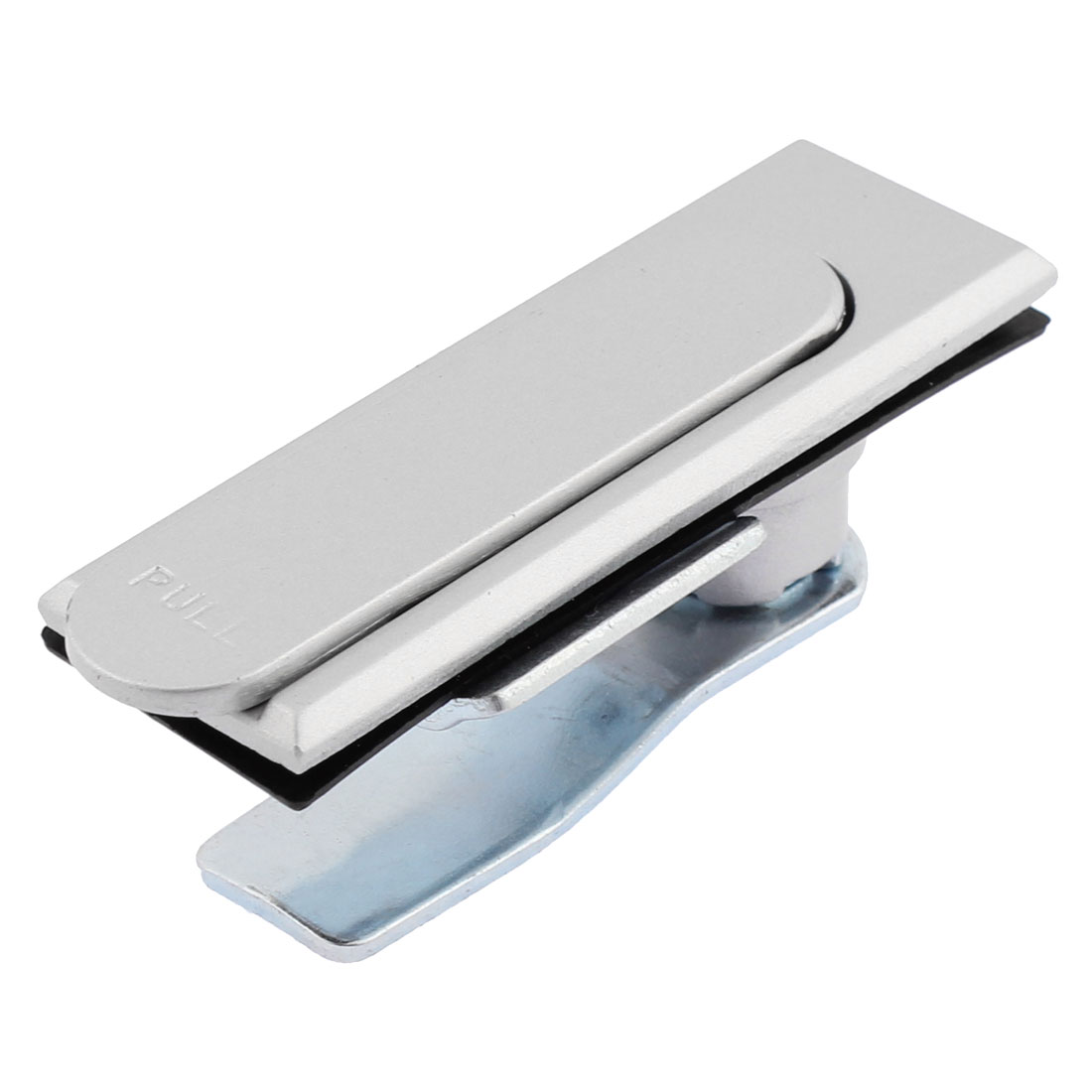 Machine Cabinet 90mm Length Pull Button Rectangle Metal Plane Lock Silver Tone