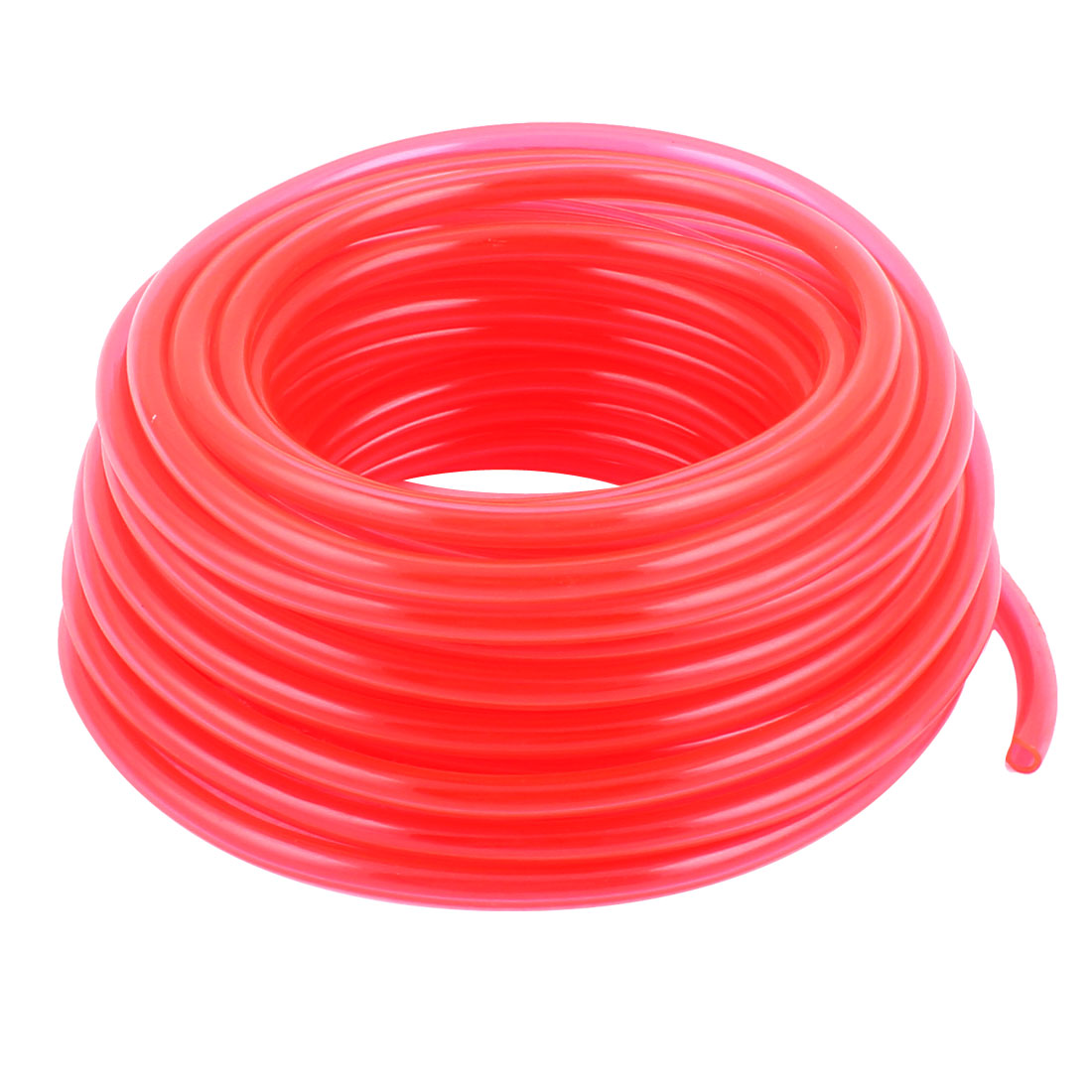 11M Length 6mm x 4mm Dia Pneumatic Polyurethane PU Air Tube Tubing Pipe Hose Red