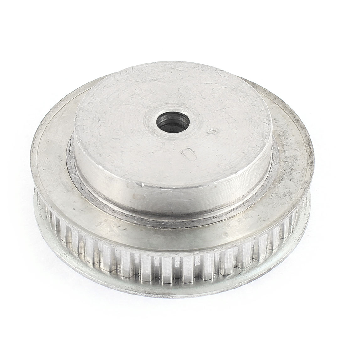 12mm Belt Width 8mm Bore 40 Teeth Synchronous Timing Pulley Silver Tone