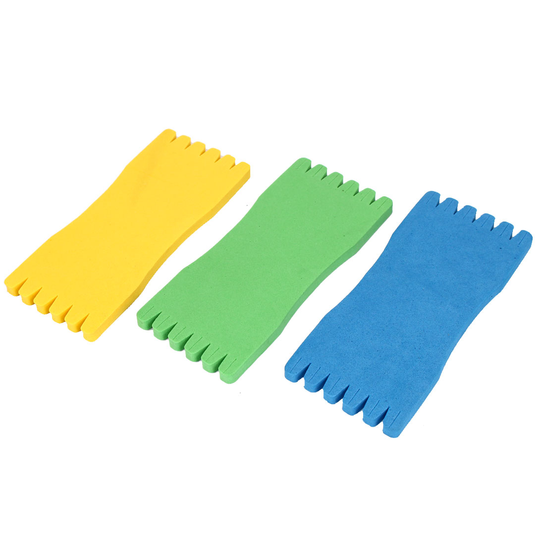 Foam Winding Board Fish Pole Fishing Line Bobbins Spool Tool 3 Pcs Tricolor