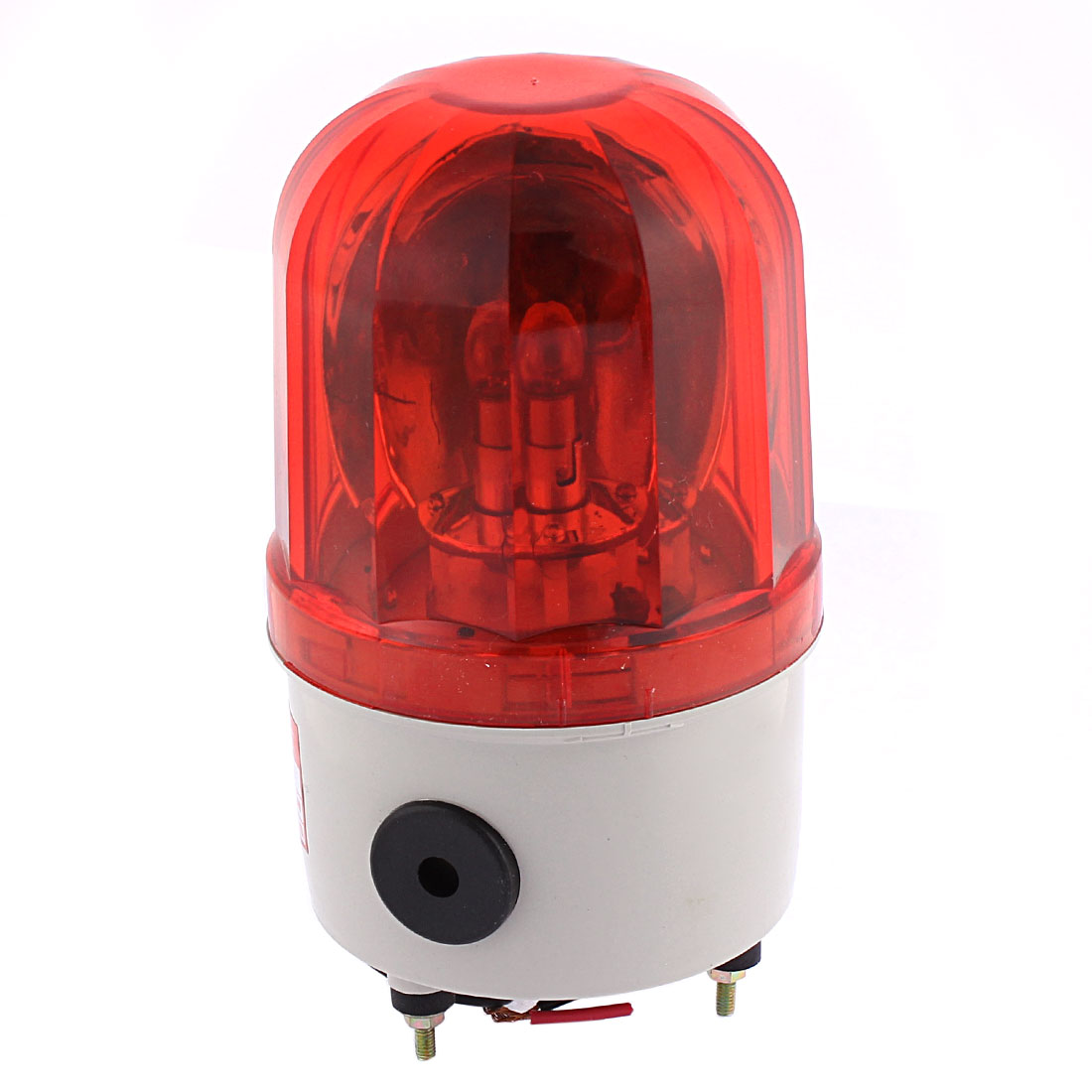 DC 24V 10W Plastic Shell LED Flash Strobe Industrial Signal Alarm Security Warning Lamp Red