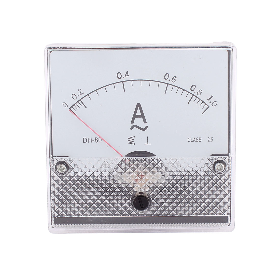 AC 0-1A Analog Panel Ammeter Meter Electric Current Measuring Gauge Class 2.5