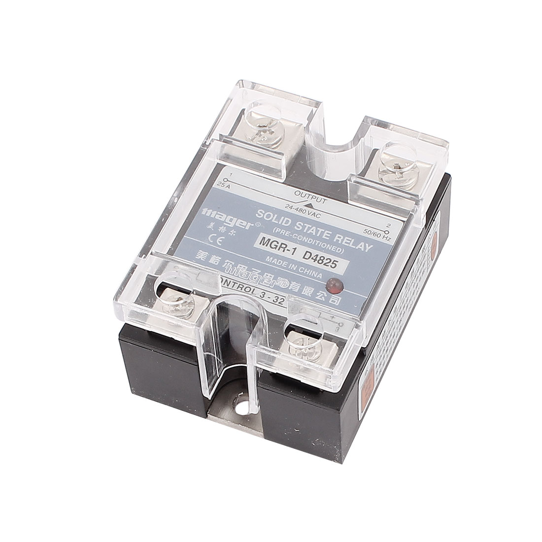 DC 3-32V Input to AC 24-480V Output Solid State Relay Module