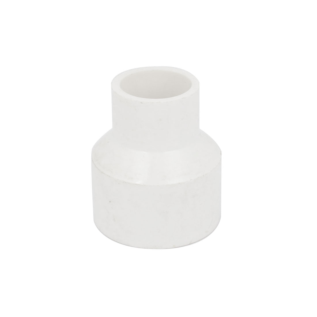 15mm x 25mm PVC Water Pipe Tube Adapter Connector Coupler White