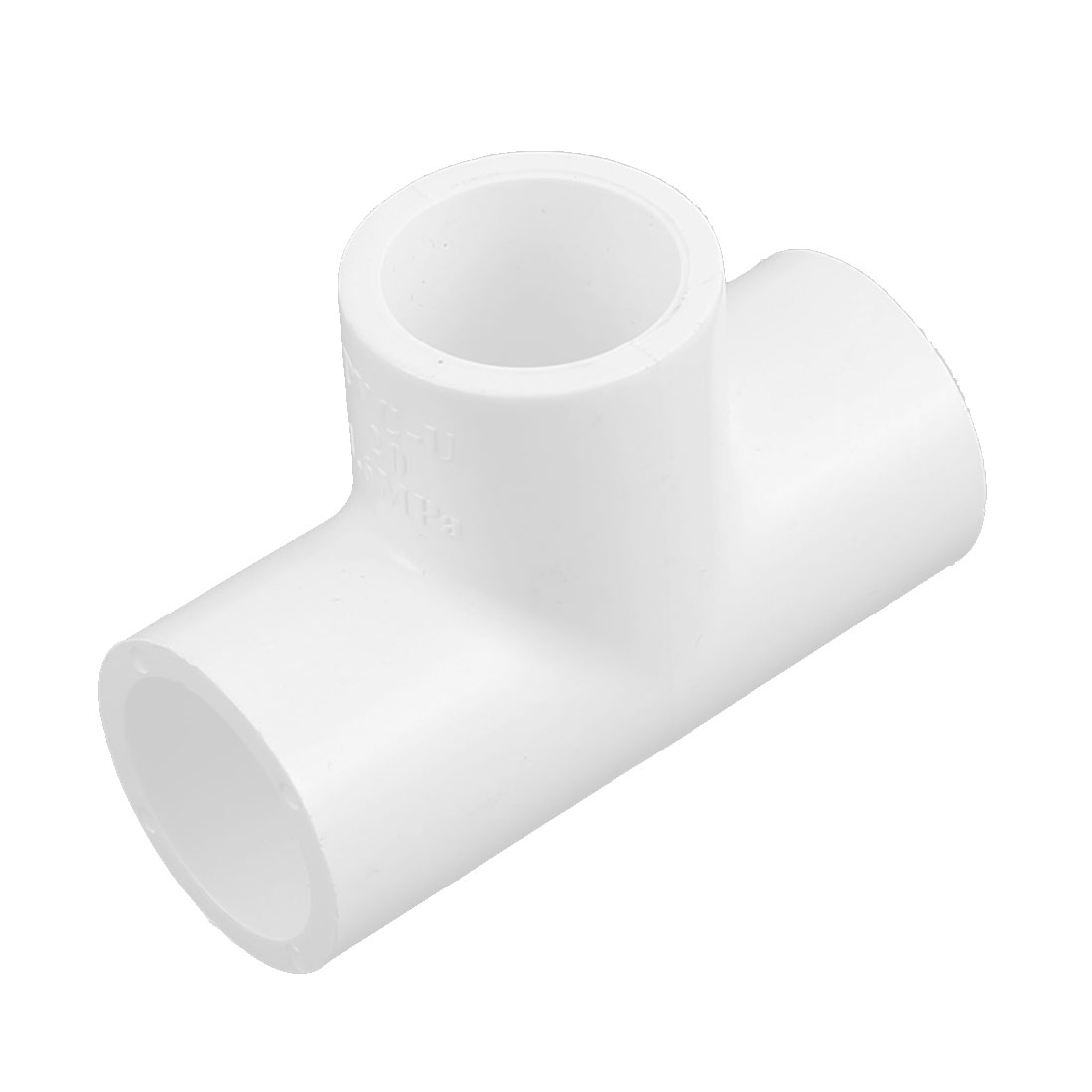 20mm Inner Dia 3 Way T Shape PVC Water Pipe Tube Joint Coupler Connector