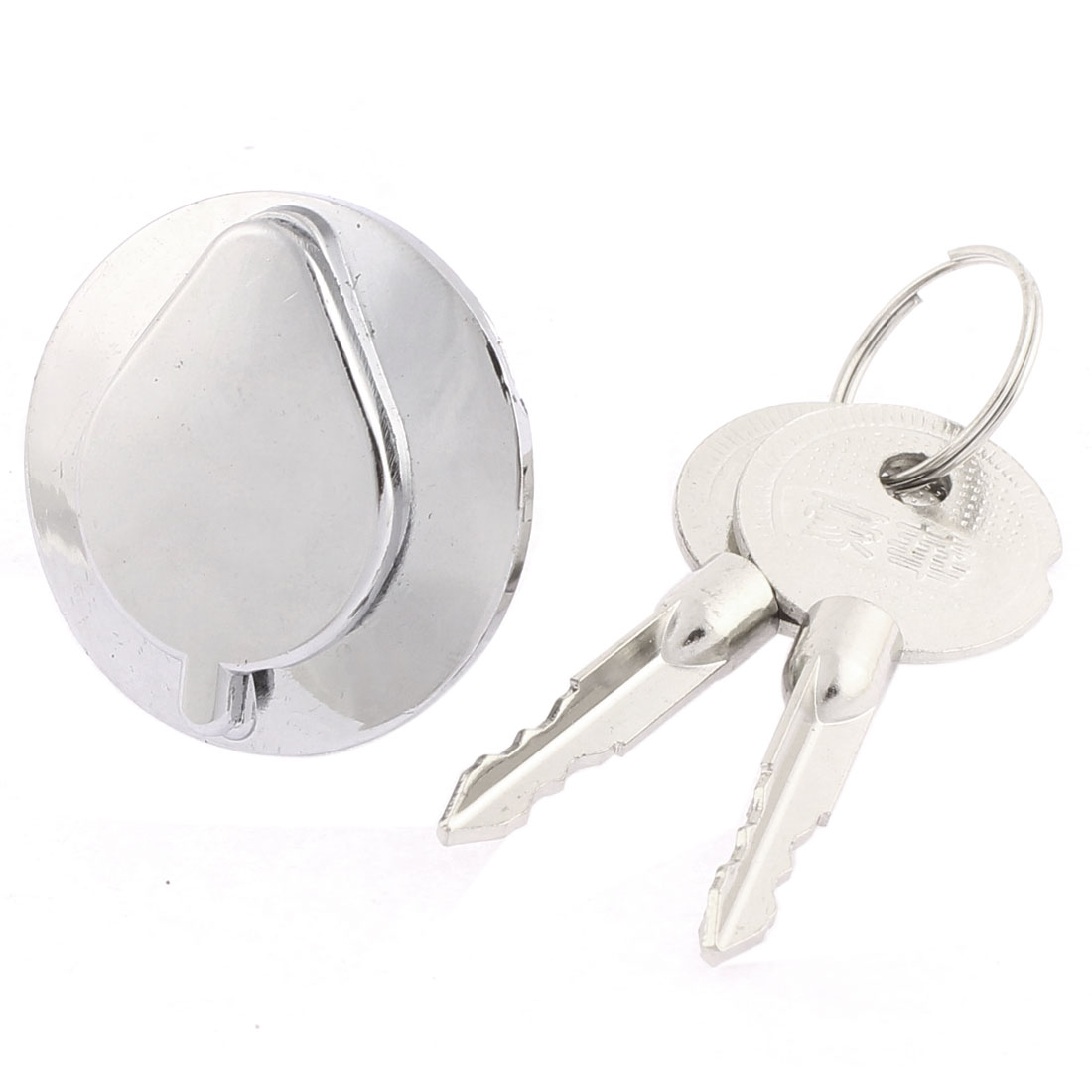 Cabinet Drawer Safety Locking 21mm Thread Cylinder Keyed Cam Lock