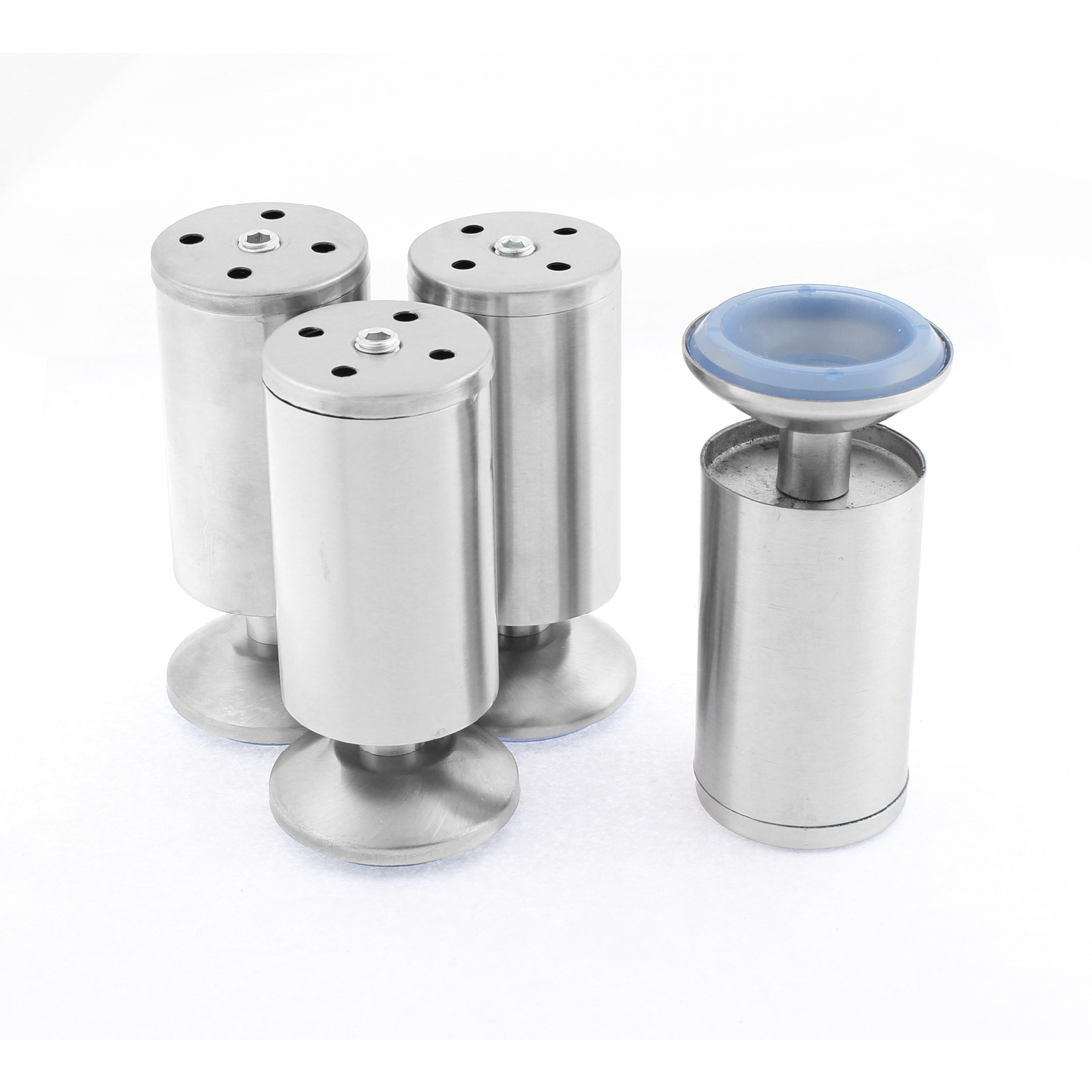 Cabinet Sofa Adjustable Leg Feet Cylinder Stand 50 x 120mm 4PCS