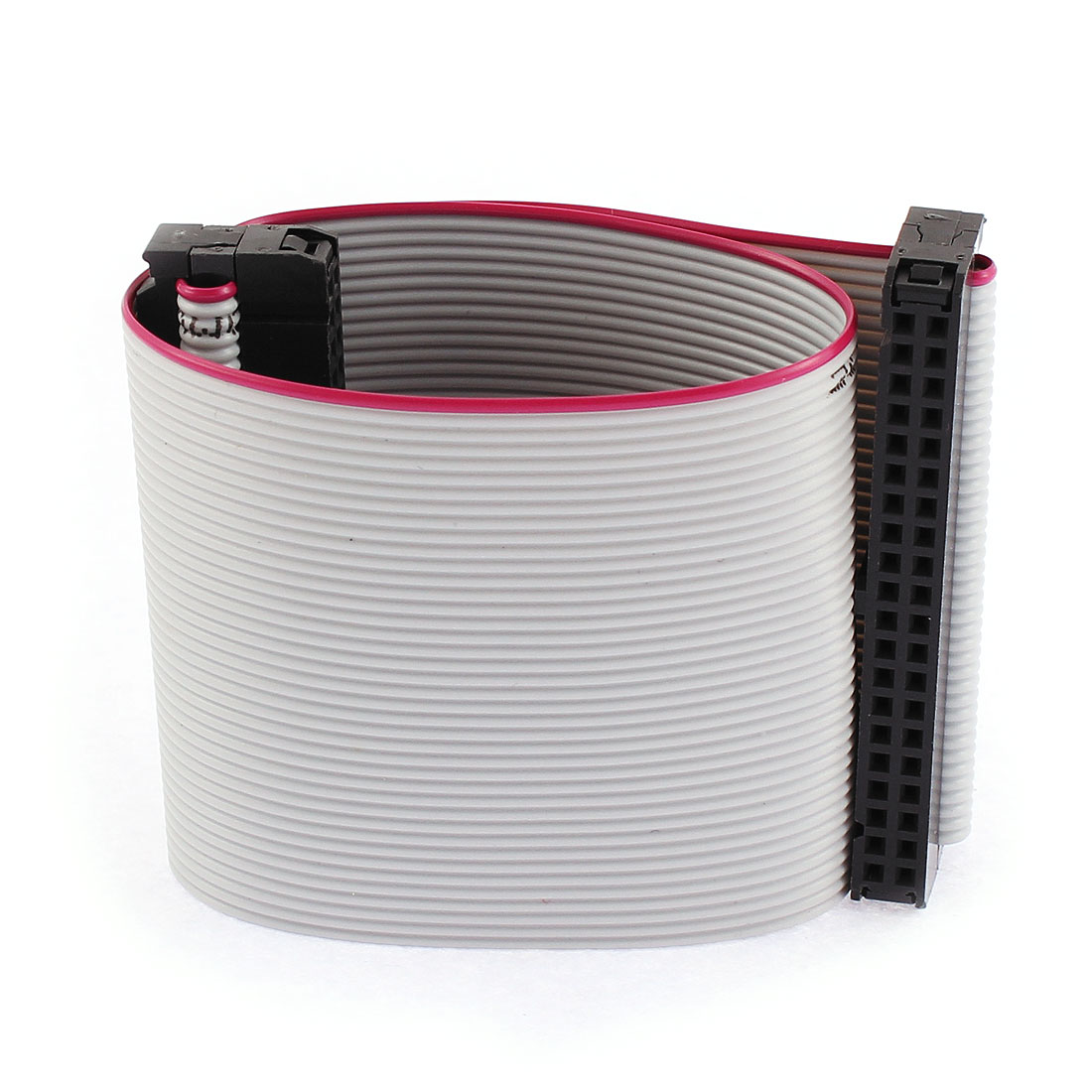 2.54mm Pitch 40 Pin IDC Connector Flat Ribbon Cable Wire 20cm Long 3 Pcs