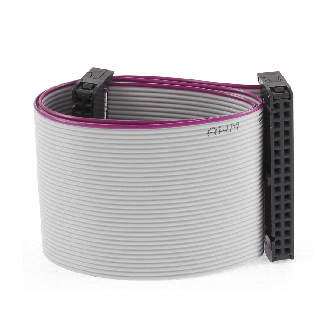 2.54mm Pitch 34 Pins 34 Wires F/F IDC Connector Flat Ribbon Cable 30cm Length