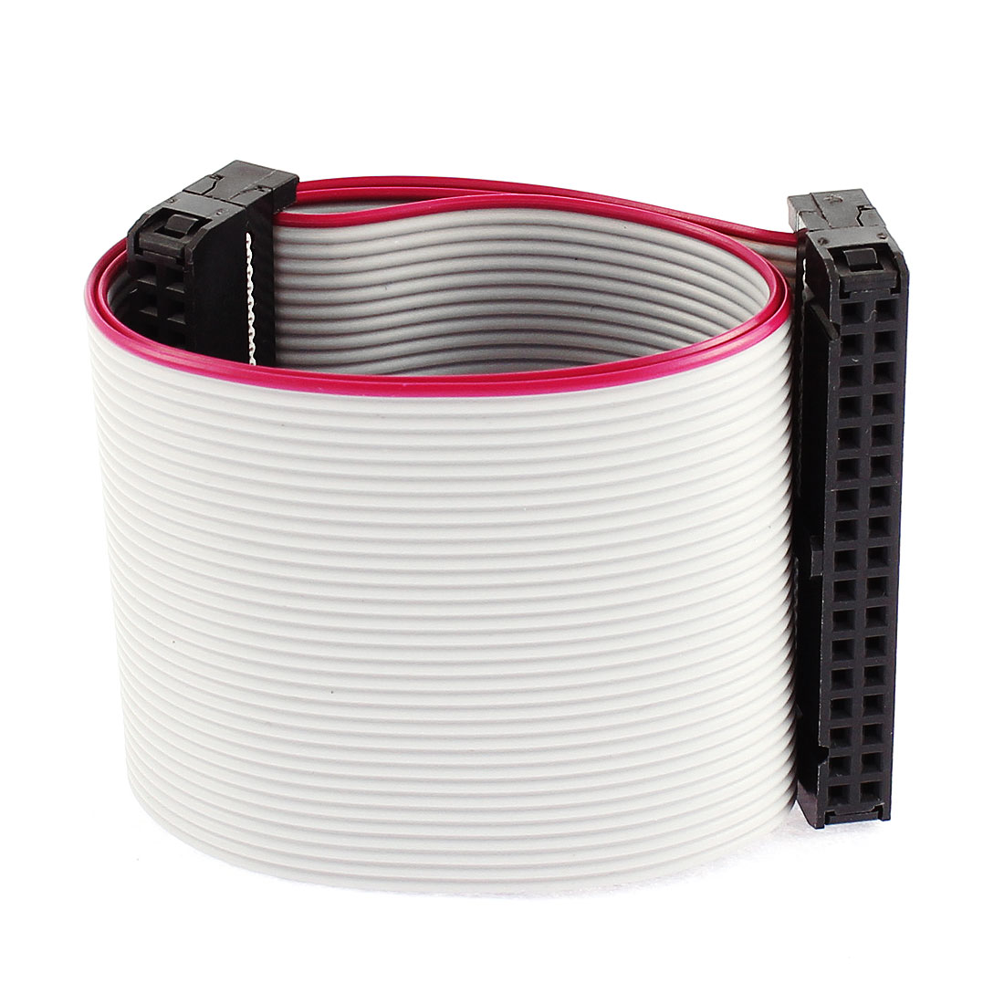 2.54mm Pitch 34 Pin Extension IDC Flat Ribbon Cable Wire 30cm Long 3 Pcs