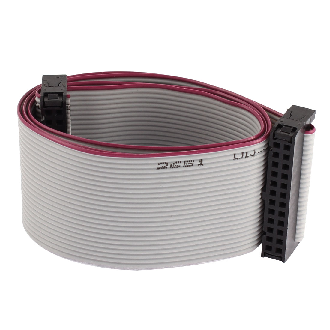 2.54mm Pitch 24 Pin 24 Wire IDC Flat Ribbon Cable 50cm Length