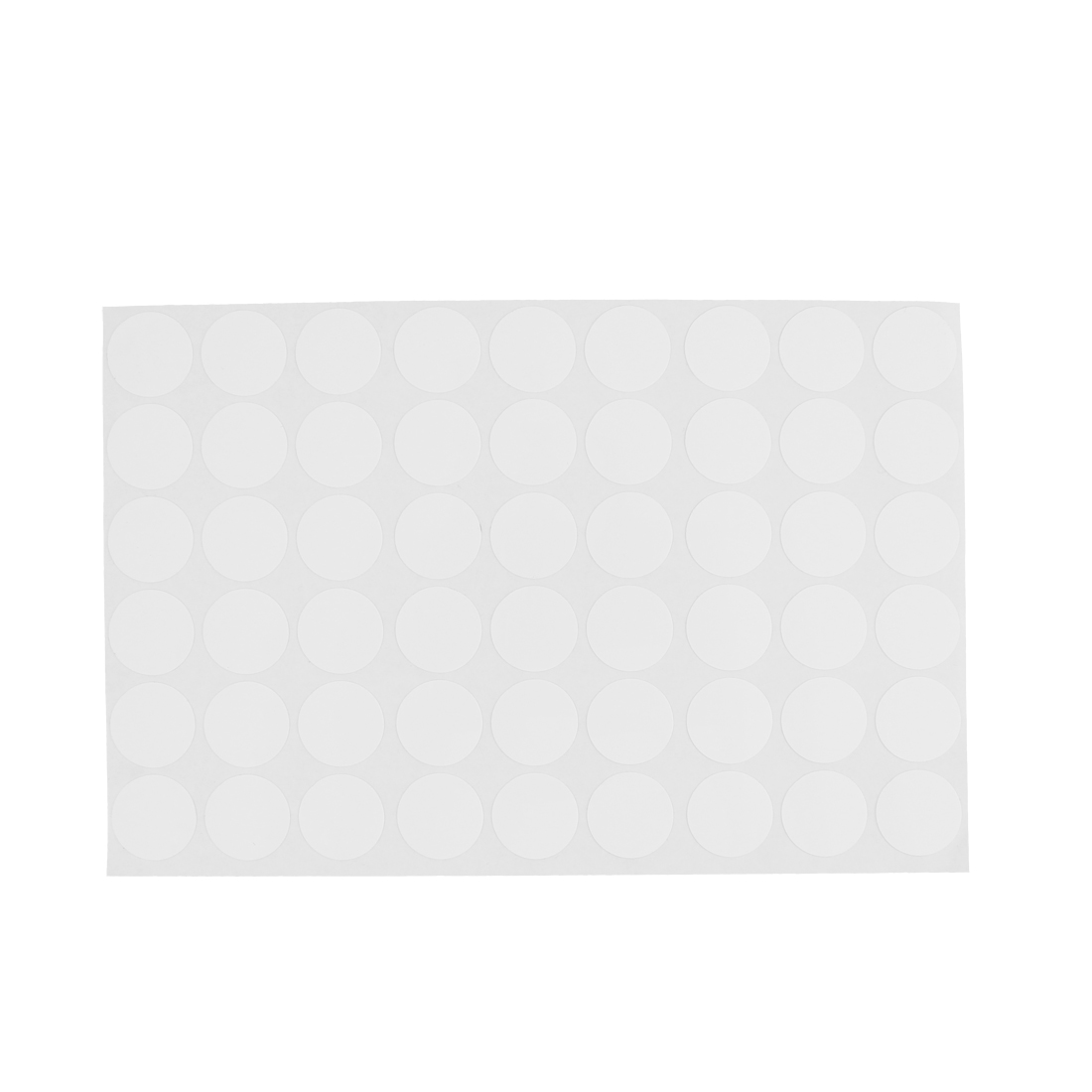 Wardrobe Cabinet Self-adhesive Screw Covers Caps Stickers White 54 in 1