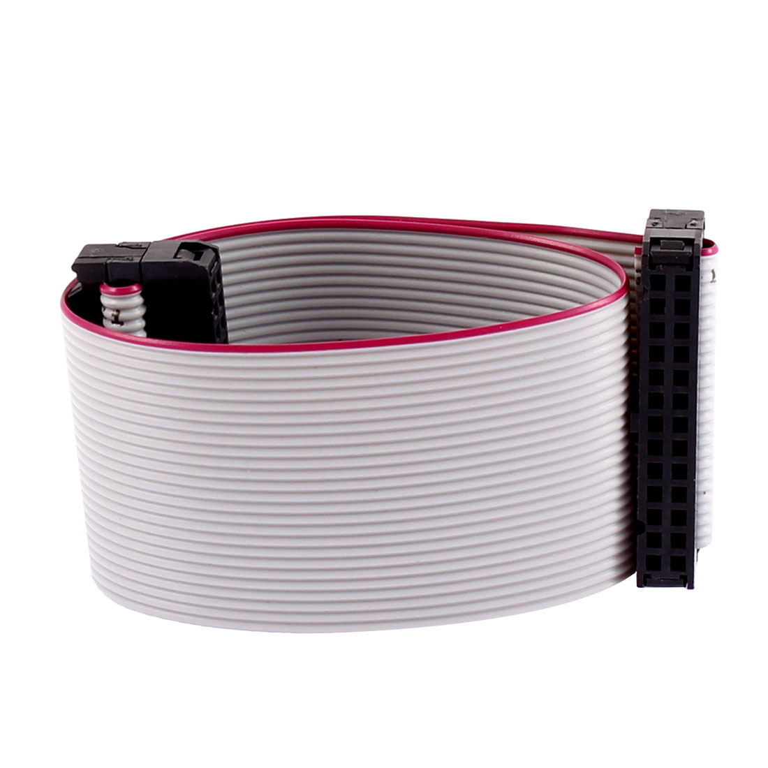 2.54mm Pitch 26 Pins 26 Wires F/F IDC Connector Flat Ribbon Cable 20cm